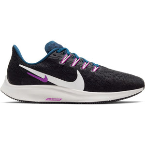 Womens Nike Air Zoom Pegasus 36 Black/Summit White (012)