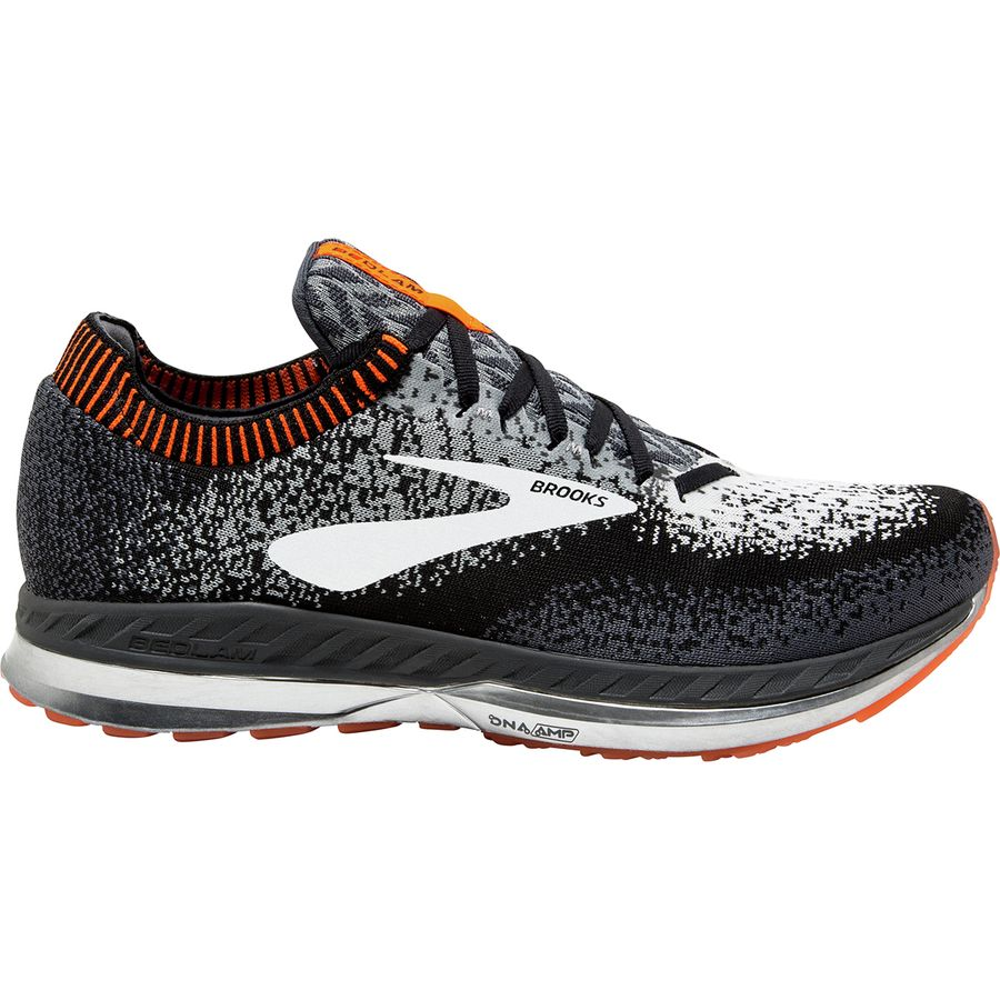 Brooks Bedlam Black/Grey/Orange (005)