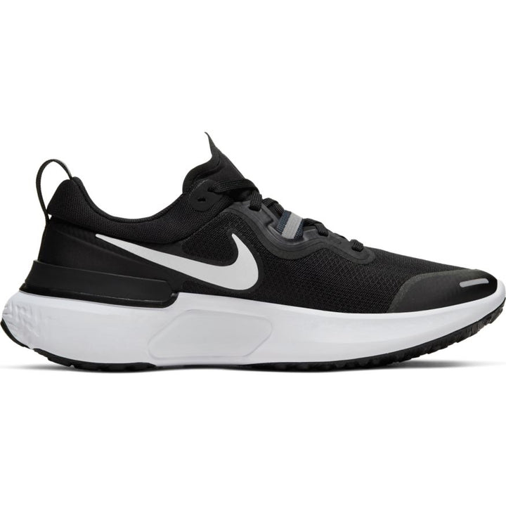 Womens Nike React Miler Black/White-Dark Grey-Anthracite (003)