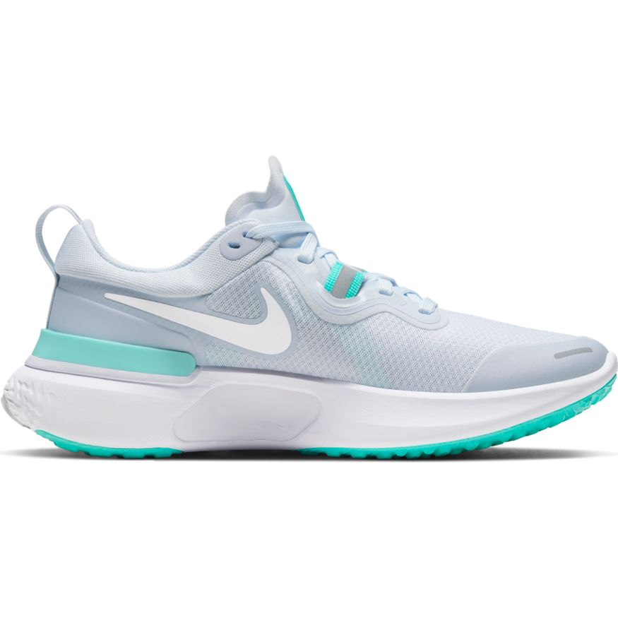 Womens Nike React Miler  Football Grey/White(004)