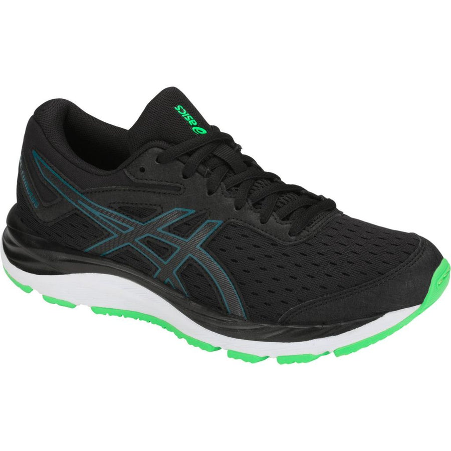 Kids Asics Gel-Cumulus 20 Black/Beryl Green (001)