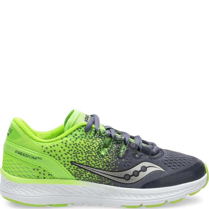 Kids Saucony Freedom ISO Green/Black (7)