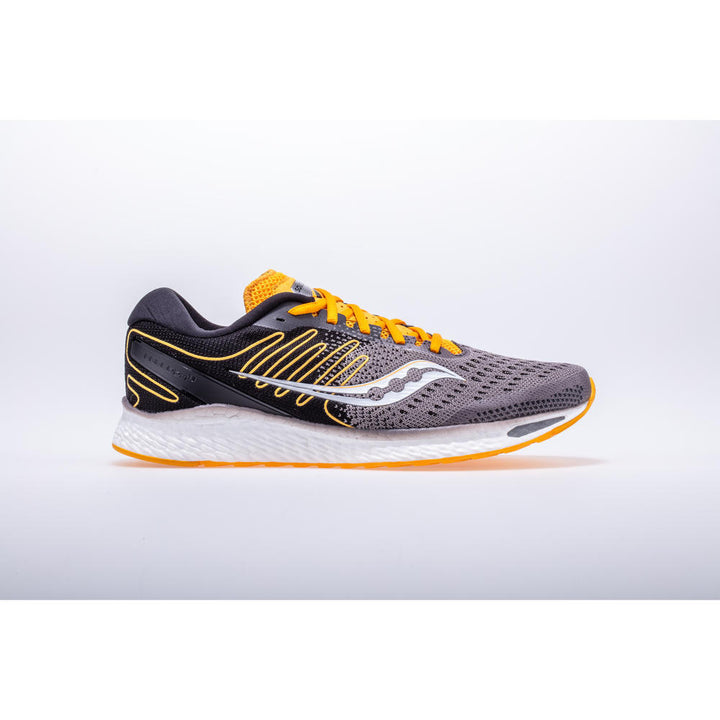 Mens Saucony Freedom 3 Black/Yellow(45)