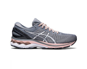 Womens Asics Gel-Kayano 27 (D) Sheet Rock/Pure Silver
