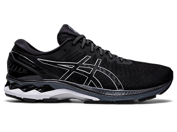 Mens Asics Gel-Kayano 27 Black/Pure Silver