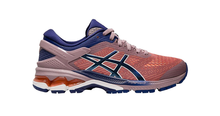Womens Asics Gel-Kayano 26 Violet Blush/Dive Blue