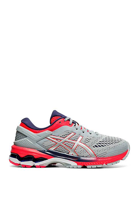 Womens Asics Gel-Kayano 26 Piedmont Grey/Silver (020) WIDE