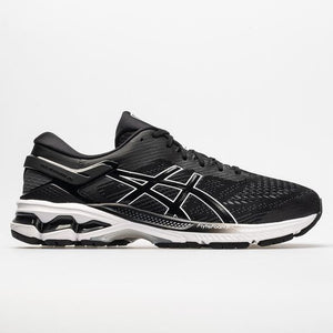 Asics Gel-Kayano 26 Black/White (001)(2E)