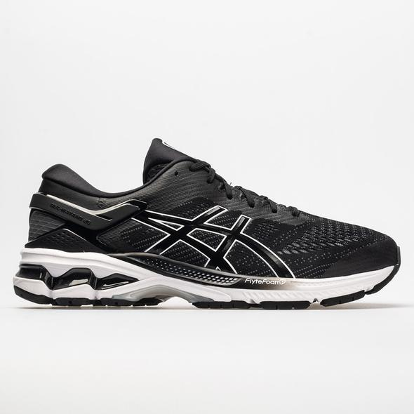 Mens Asics Gel-Kayano 26 Black/White (001)
