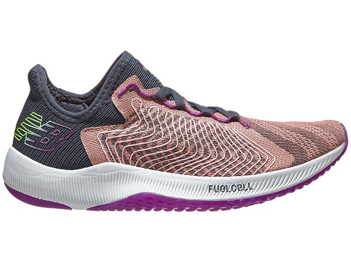 New Balance Womens FuelCell Rebel Ginger Pink with White & Black (PG)