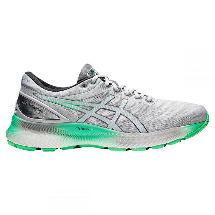 Mens Asics Gel Nimbus Lite  White/Piedmont Grey (101)