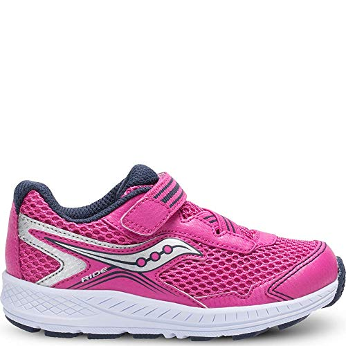 Kids Saucony Ride 10 Jr Pink/Silver