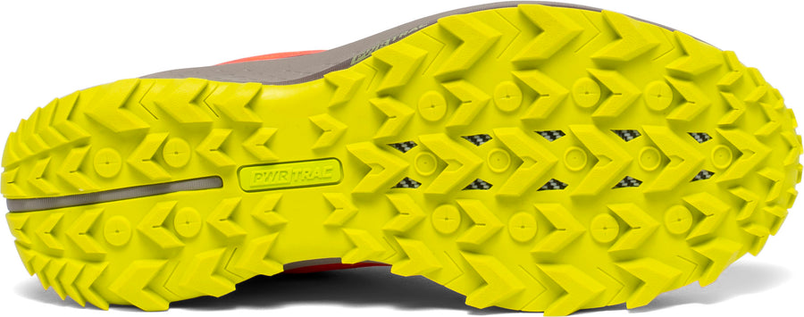 Womens Saucony Peregrine 10 Vizi Red/Citron