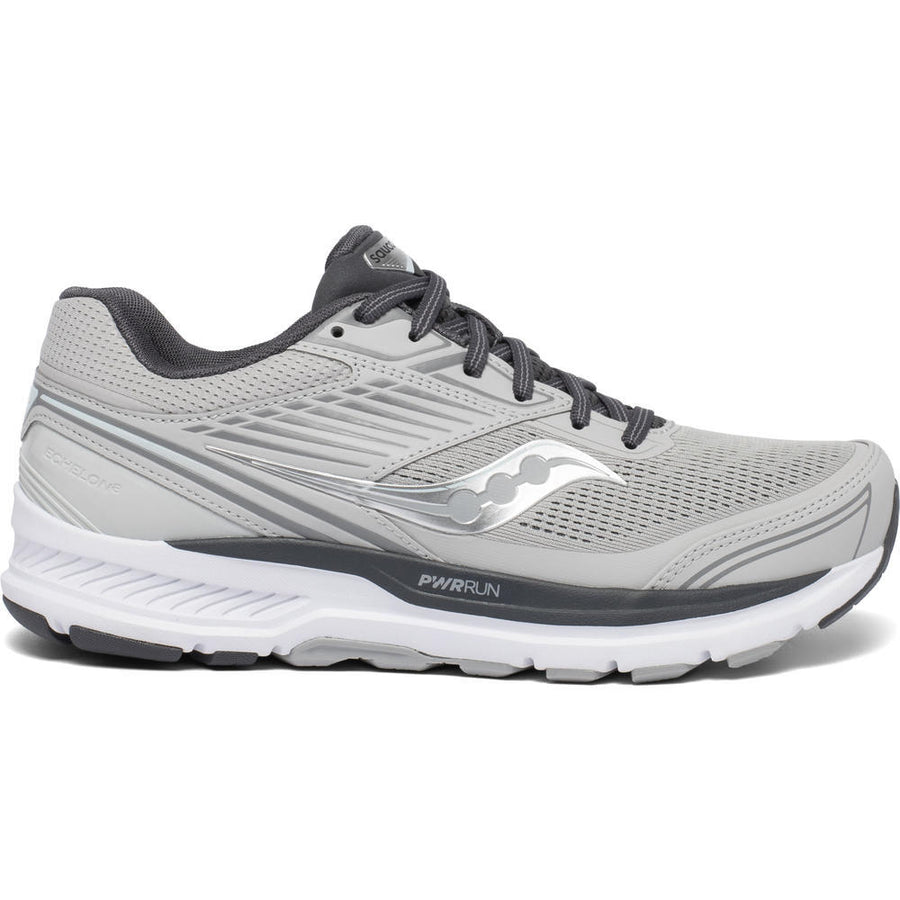 Womens Saucony Echelon 8 Alloy/Charcoal (Wide)