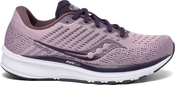 Womens Saucony Ride 13 Blush/Dusk (20) WIDE