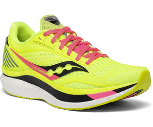 Womens Saucony Endorphin Speed   Citron