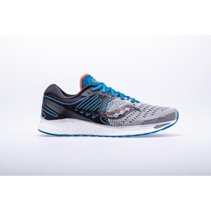 Mens Saucony Freedom 3   Grey/Blue(25)