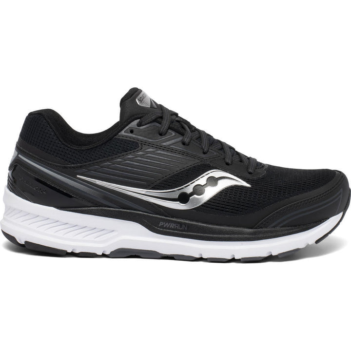 Mens Saucony Echelon 8  Black/White(Wide)