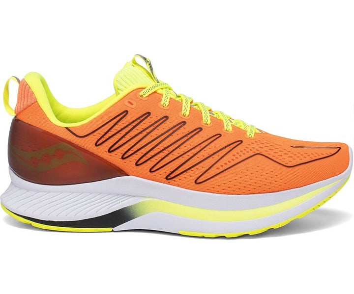 Mens Saucony Endorphin Shift  Vizi Orange