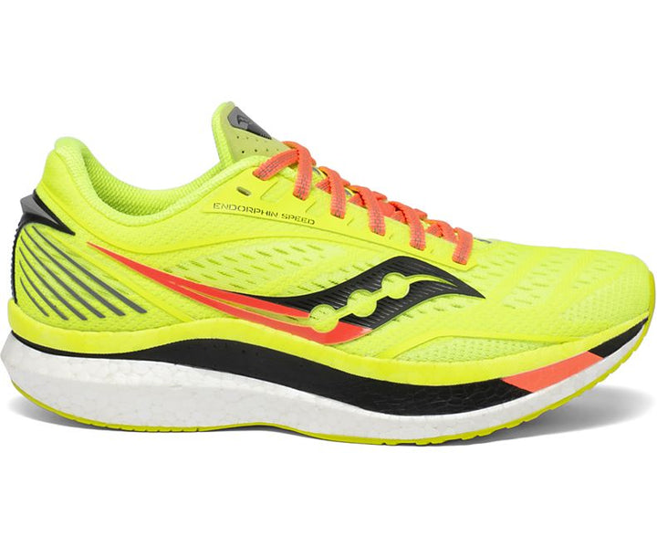 Mens Saucony Endorphin Speed - Citron