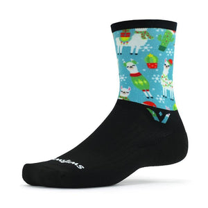 Swiftwick Vision Six Impression Christmas