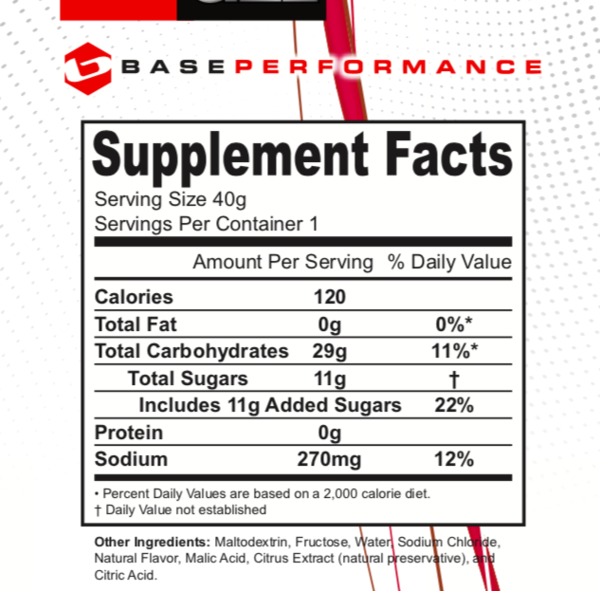 BASE Performance Base Gel