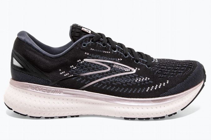 Womens Brooks Glycerin 19  Black/Ombre/Metallic-074(D)