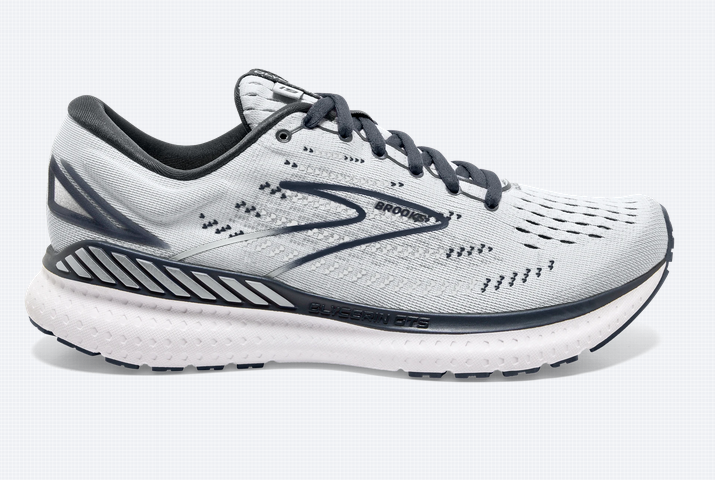 Womens Brooks Glycerin GTS 19  Grey/Ombre/White-085
