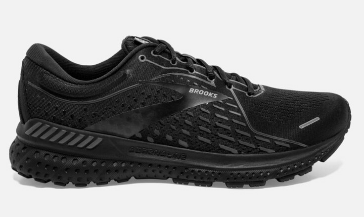 Mens Brooks Adrenaline GTS 21  Black/Black(020)