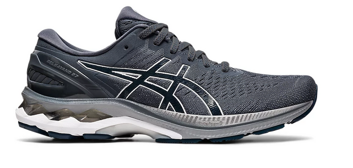 Mens Asics Gel-Kayano 27  Carrier Grey/French Blue
