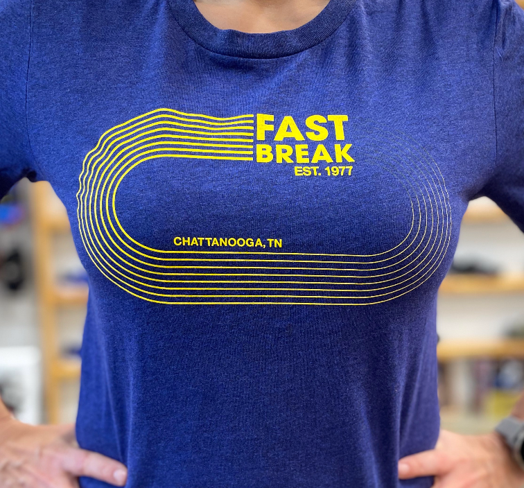 Fast Break Track Logo Shirt