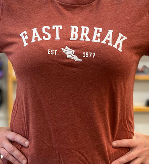 Fast Break Running Logo Shirt