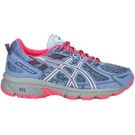 Kids Asics Gel-Venture 6 Blue/Pink (400)