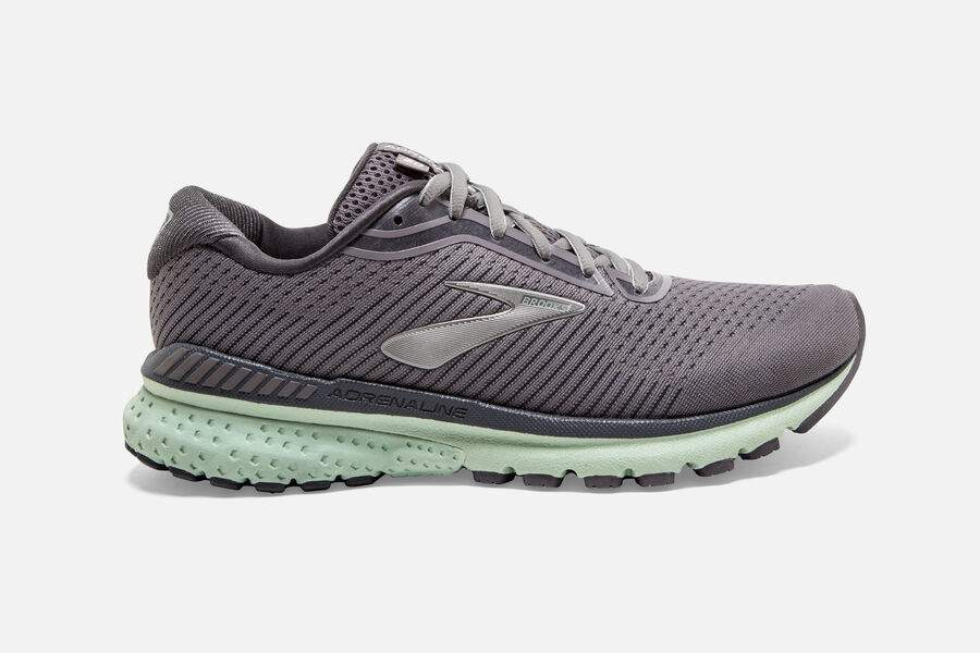 Womens Brooks Adrenaline GTS 20  Shark/Pearl/Mint (084)