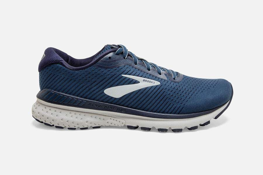 Mens Brooks Adrenaline GTS 20   Poseidon/Peacoat/(492)