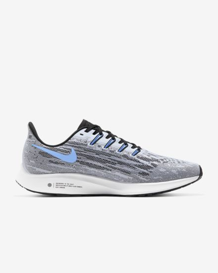 Mens Nike Air Zoom Pegasus 36  White/University Blue(101)