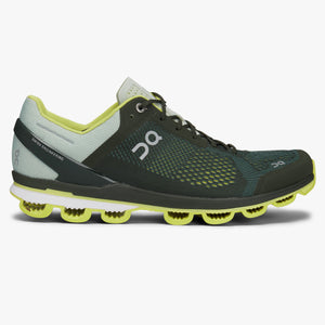 Mens ON Cloudsurfer Jungle/Lime