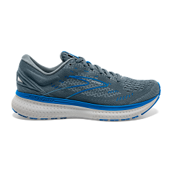 Mens Brooks Glycerin 19  Quarry/Grey/Dark Blue-095(2E)
