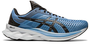 Mens Asics Novablast Grey Floss/Black (401)