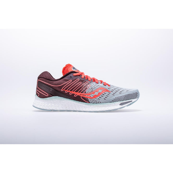 Womens Saucony Freedom 3   Sky Grey/Coral(45)