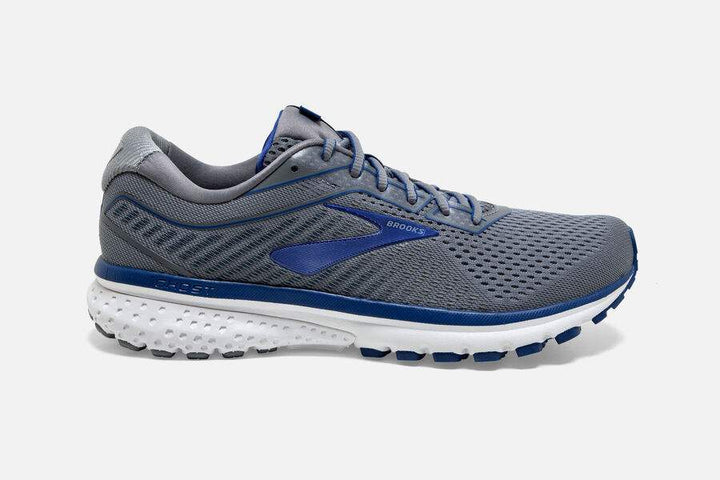 Brooks Ghost 12 Grey/Alloy/Blue (003)