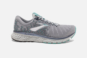 Brooks Glycerin 17  Grey/Aqua/Ebony (070) D