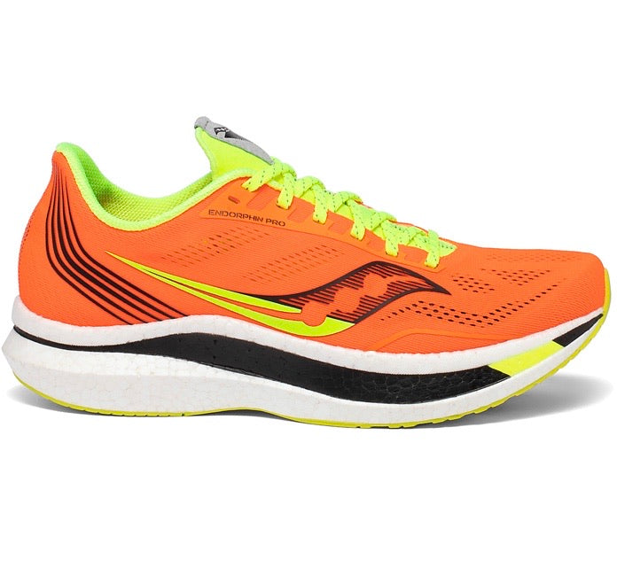 Mens Saucony Endorphin Pro  Vizi Orange