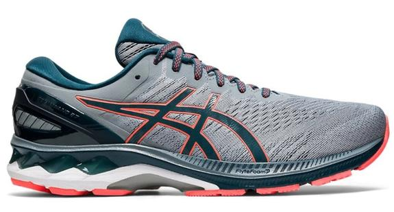 Mens Asics Gel-Kayano 27 Sheet Rock/Magnetic Blue