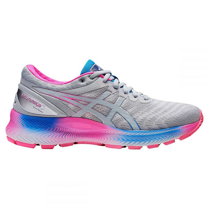 Womens Asics Gel Nimbus Lite  White/Piedmont Grey(100)