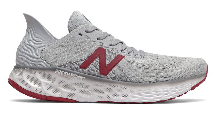 New Balance M1080v10 Summer Fog/Neo Crimson (G)