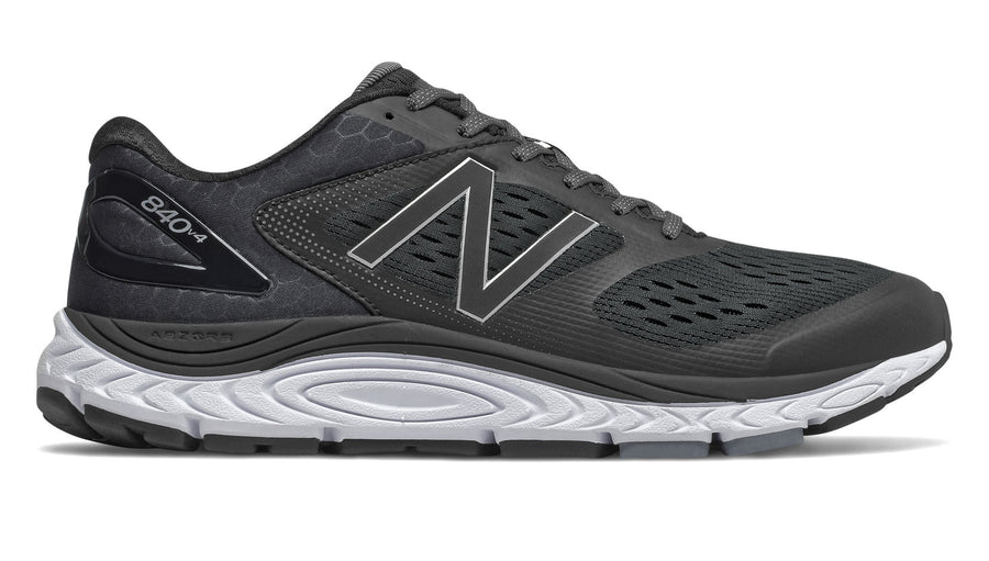 Mens New Balance  M840v4 (4E) Black/White (BK)