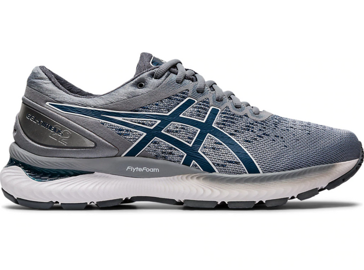 Mens Asics Gel-Nimbus 22 Knit  Piedmont Grey/Mako Blue( 020)