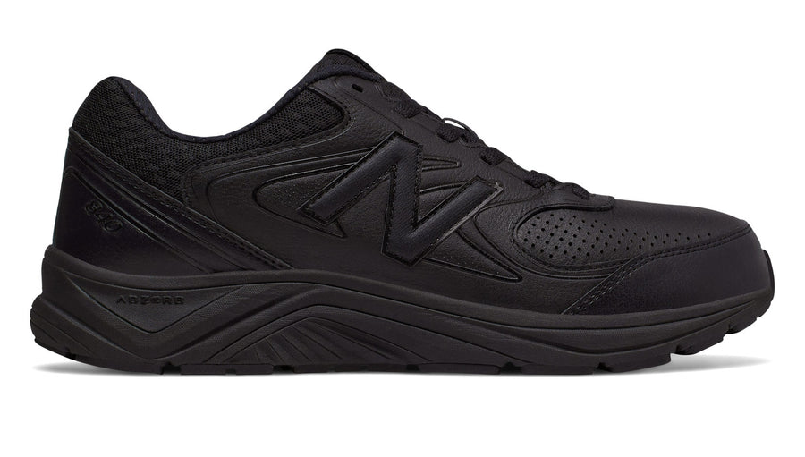 New Balance WW840v2 (2E) Black Leather (BK)