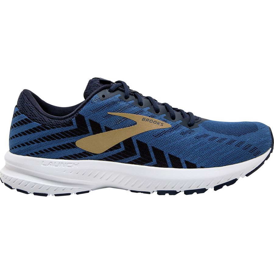 Brooks Launch 6 Peacoat/Blue/Gold  (424)